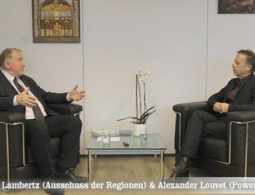 Die Stimme der Regionen in der EU: Karl-Heinz Lambertz im Gespräch mit Alexander Louvet