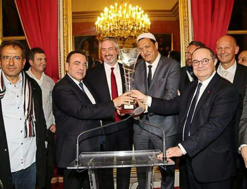 "Imam Hassen Chalghoumi won the ""Brotherhood"" prize in the French Senate"