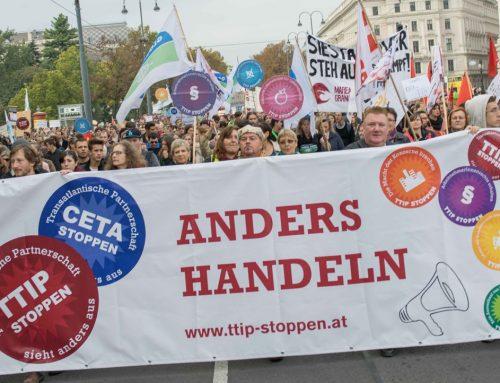 TTIP und CETA: Die ISDS-Klausel soll durch einen multilateralen Investitionsgerichtshof ersetzt werden (DE | FR)