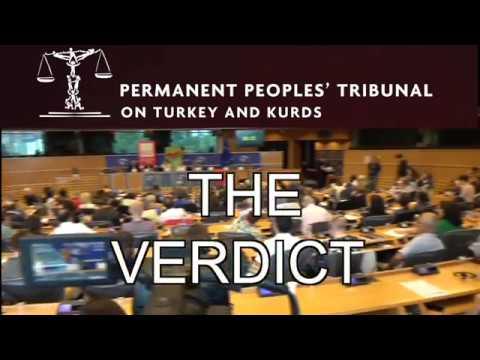 Peoples' Tribunal: VERDICT ON TURKEY AND KURDS