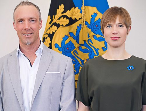 Estlands Staatspräsidentin Kersti Kaljulaid im Interview