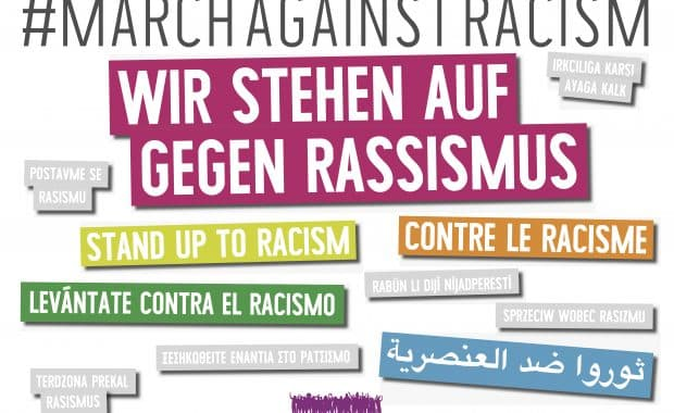 16 March 2019: March against Racism