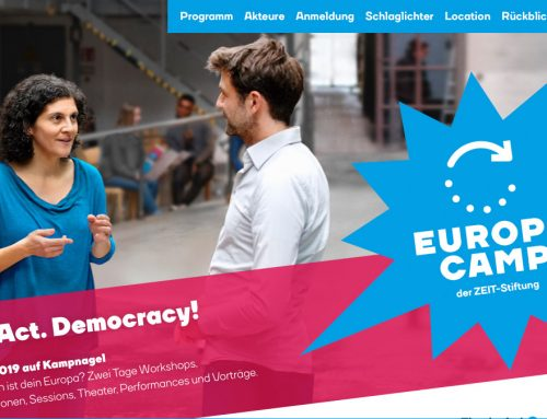 """EuropaCamp 2019: """"React. Act. Democracy!"""""""