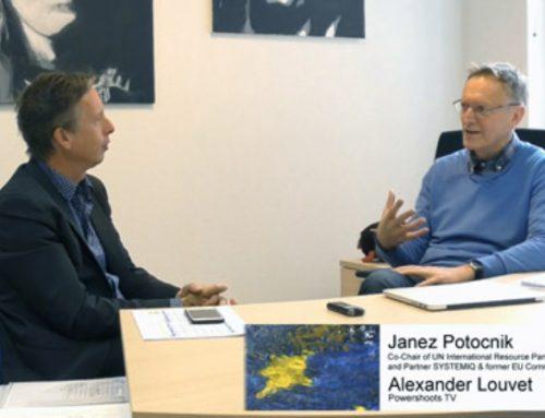 Janez Potocnik im Gespräch mit Alexander Louvet über Umwelt- und Klimaschutz
