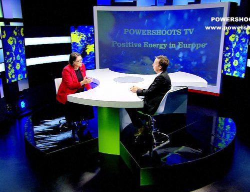 EU-Transport-Kommissarin Violeta Bulc im Gespräch mit Powershoots TV