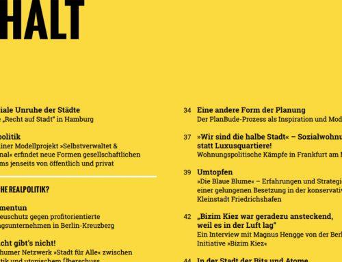 Común – Ein neues Magazin für stadtpolitische Interventionen