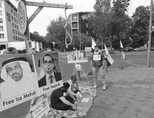 Hungerstreik von Ahwazi-Aktivisten in Berlin und Brüssel aus Solidarität mit politischen Gefangenen