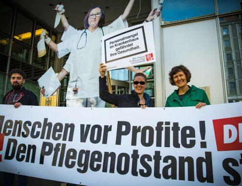 Vom Umgang mit Pflegepersonal in Belgien und Deutschland