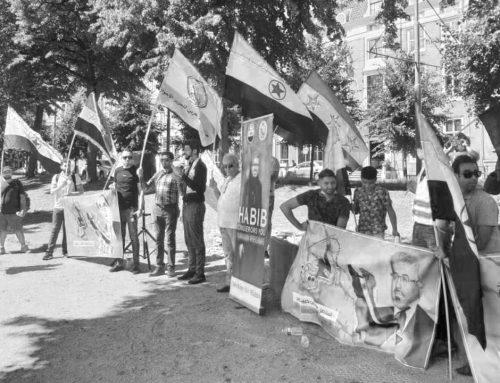 Niederlande: Demonstration zur Unterstützung der arabischen Ahwazi-Führer und gegen die iranische Unterdrückung der Redefreiheit