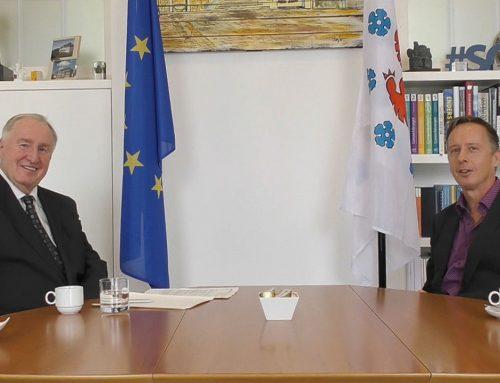 Karl-Heinz Lambertz sieht die Zukunft der EU in den Händen der Kommunalpolitiker*innen