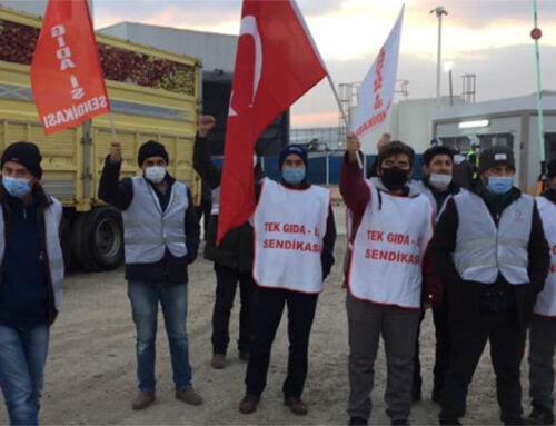 Tekgıda-İş bietet der Döhler Group die Stirn!