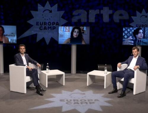 EuropaCamp 2021: Spannende Debatten gehen auch unter Corona-Bedingungen