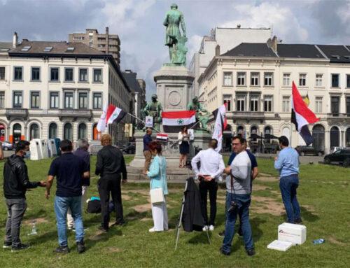 Ahwazi Lives Matter demonstration in Brussels